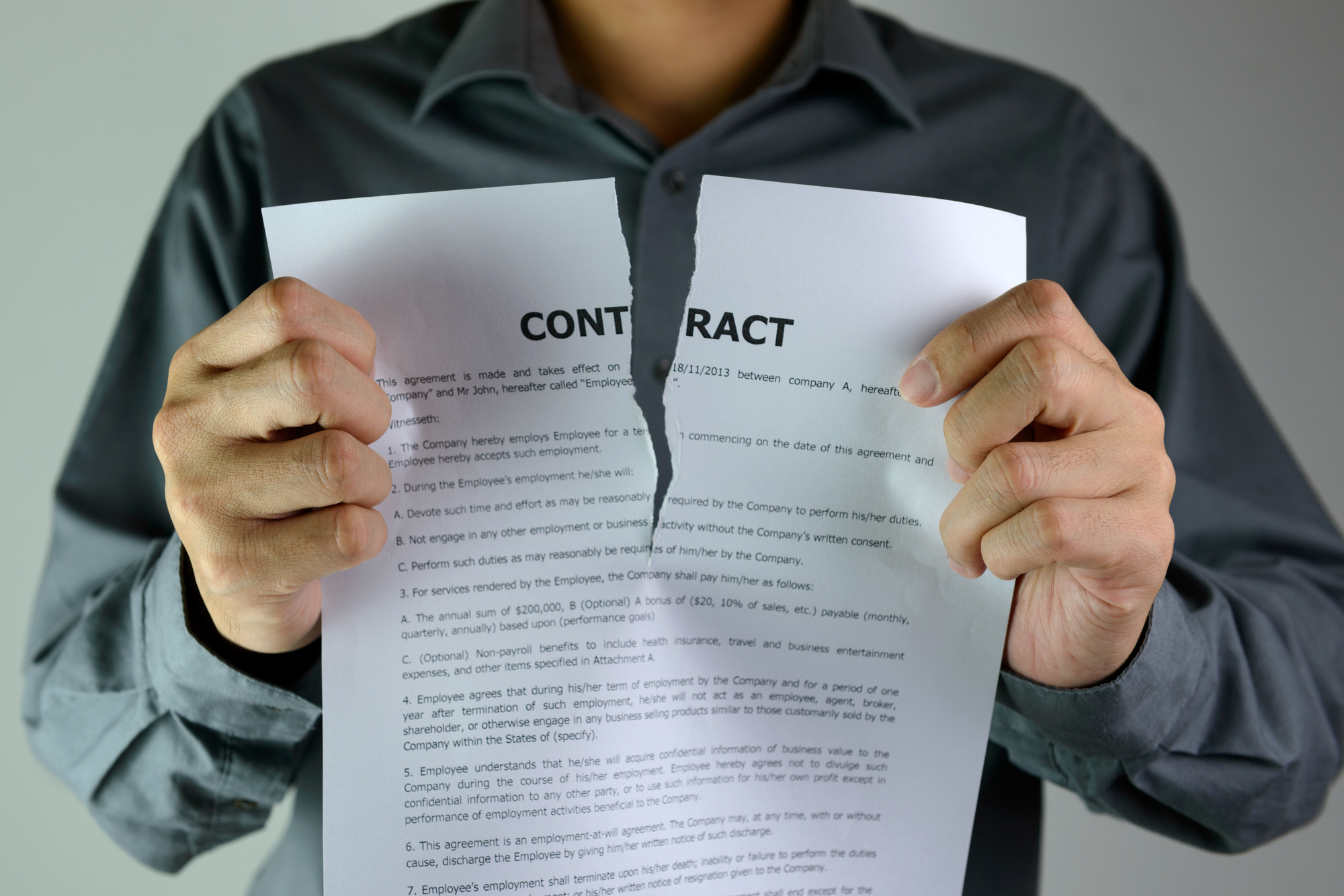 cancel a timeshare contract